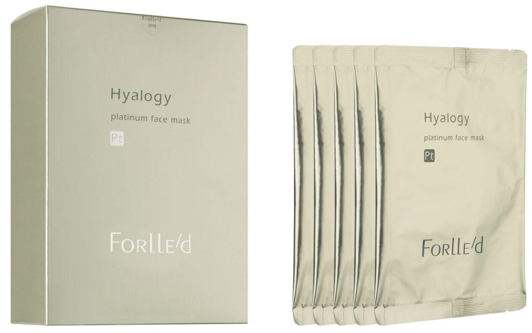 Hyalogy Platinum face mask