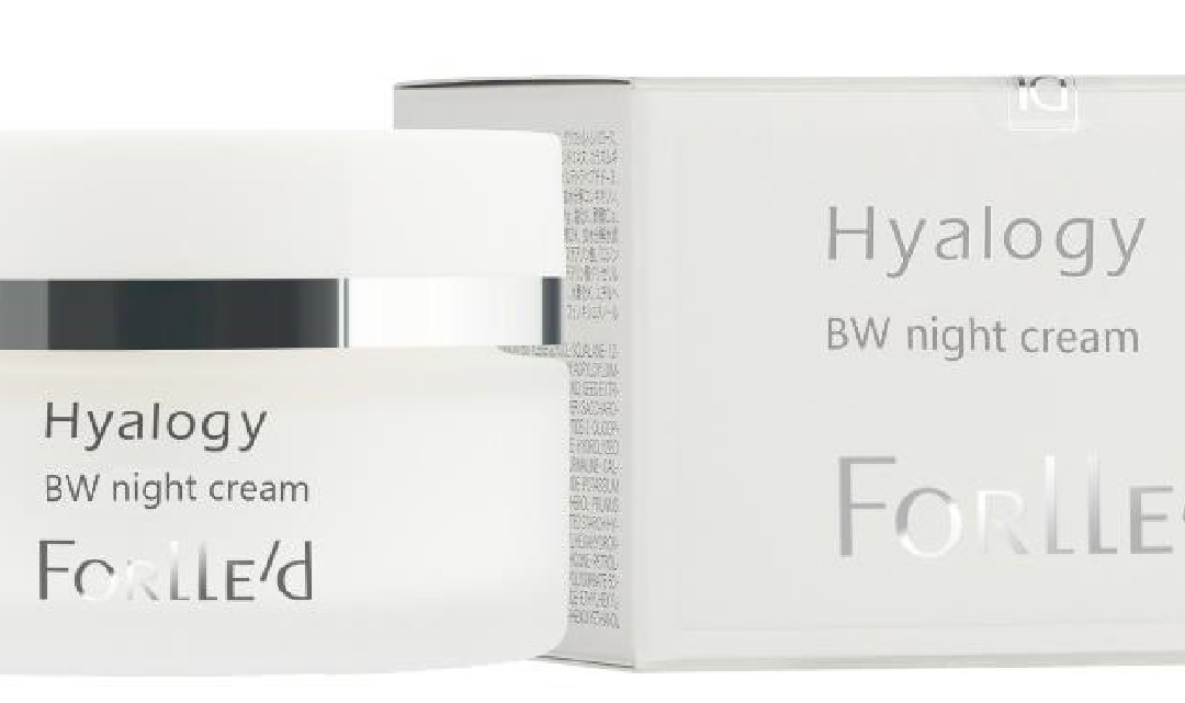 Hyalogy BW night cream 50 ml. BW valgendav öökreem 50 ml.